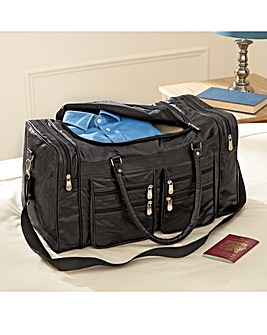 Patchwork Leather Holdall