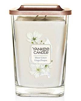 Yankee Candle Elevation Sheer Linen Large Jar