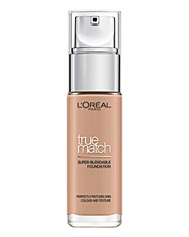 L'Oreal True Match Liquid Foundation With Hyaluronic Acid 3.C Rose Beige