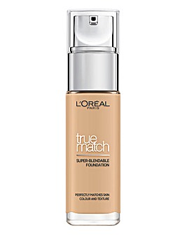 L'Oreal True Match Liquid Foundation With Hyaluronic Acid 3.N Creamy Beige