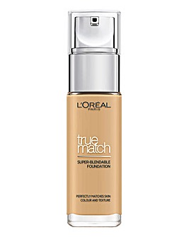 L'Oreal True Match Liquid Foundation With Hyaluronic Acid 4.W Golden Natural