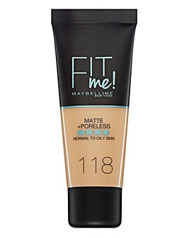 Maybelline Fit Me Foundation 118