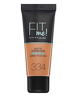 Maybelline Fit Me Foundation - 334 Warm Tan