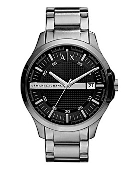 Armani Exchange Hampton Stripe Bracelet Watch