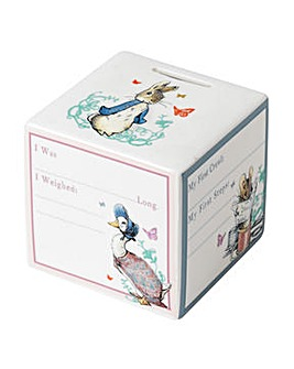 Beatrix Potter New Baby Money Bank