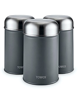 Tower Infinity Stone Canisters Grey