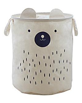 Mimo Bear Face Laundry Bag