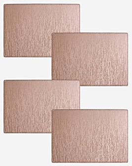 Knightsbridge Set of 4 Placemats Pink