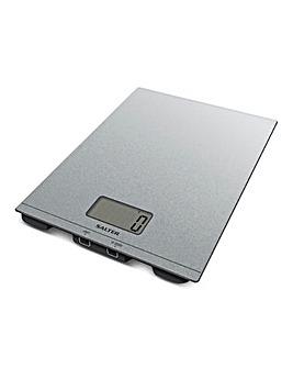 Salter Silver Glitter Scale