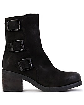 Replay Dorothy Leather Ankle Boots Standard Fit