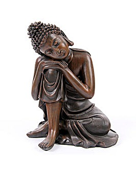 Buddha Figurine with Head on Knee