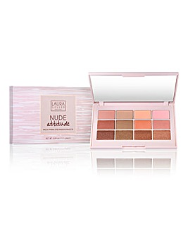 Laura Geller New York Nude Attitude Multi-finish Eye Shadow Palette