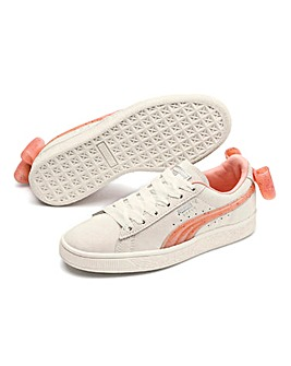 Puma Suede Bow Jelly Trainers