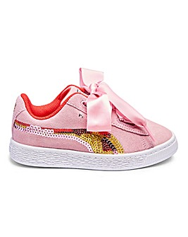 3d700cd686 Puma Suede Heart Trainers