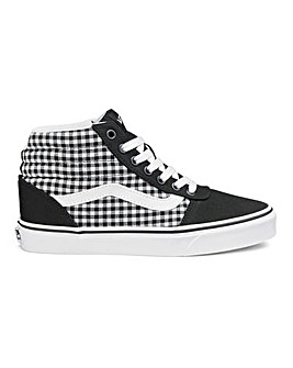 Vans Ward Gingham HI Top Trainers