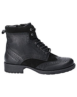 Hush Puppies Jazz Lace Up Ankle Boot