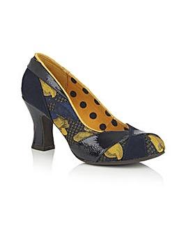 Ruby Shoo Lulu Slip On Court Shoe