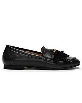 Daniel Nostie Leather Tassel Loafers