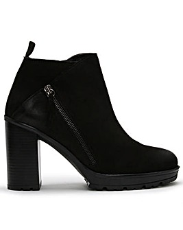 DF By Daniel Lispa Leather Ankle Boots