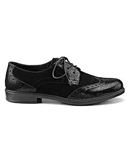 Hotter Norfolk Lace Up Brogue