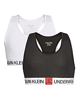 Calvin Klein Girls Pack of Two Bralette