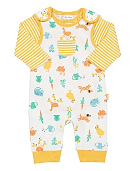 Kite Farm Garden Dungaree Set