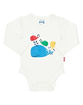 Kite Rainbow Whale Bodysuit
