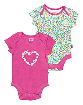 Kite Wildflower 2 pack Bodysuit