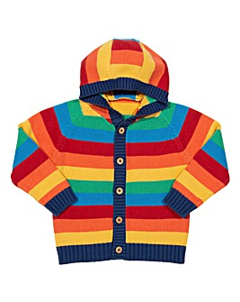 Kite Rainbow Knit Hoodie