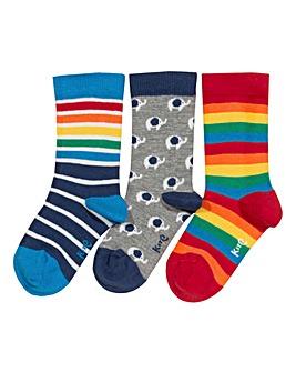 Kite 3 Pack Ellie Socks