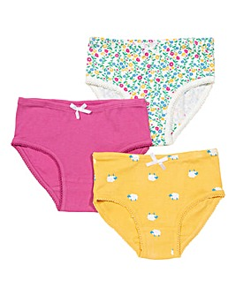 Kite 3 Pack Wildflower Briefs