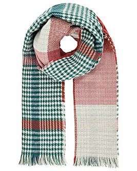 Accessorize Farrow Check Blanket