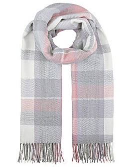 Accessorize Henley Check Blanket