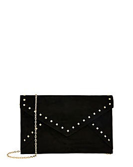 Accessorize Petra Studded Clutch