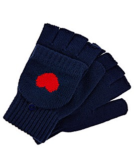 Accessorize Heart Capped Glove
