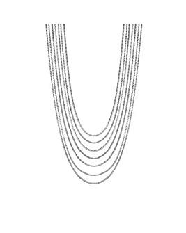MOOD Slinky Multirow Necklace