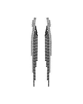 MOOD Monotone Twist Drop Earrings