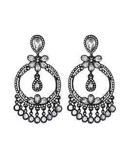 MOOD Statement Front Facing Drop Earring