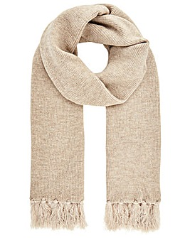Monsoon Camilla Camel Knitted Scarf