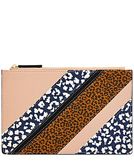 Accessorize Leopard Patch Coin Purse