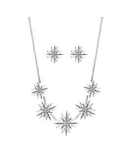 Silver Starburst Set - Gift Boxed