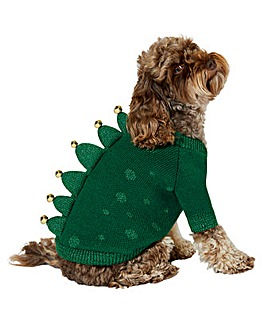 Accessorize Dinosaur Dog Jumper