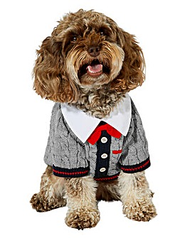 Accessorize Preppy Dog Jumper