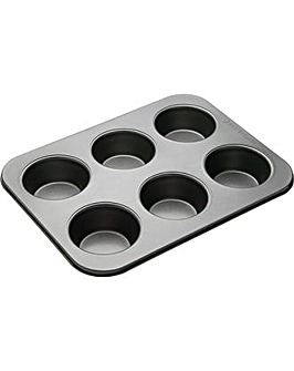 MasterClass Non-Stick 6-Hole Muffin Tin