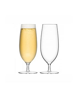 LSA Bar Pilsner Glasses Set of 2