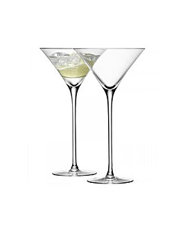 LSA Bar Cocktail Glasses Set of 2