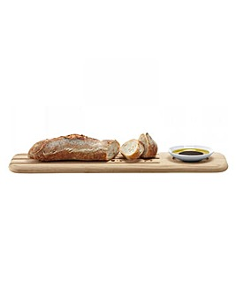 LSA Dine Oak Baguette Serving Board