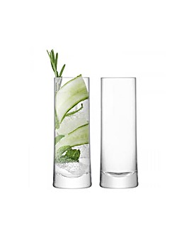 LSA Gin Highball Glass Set of 2