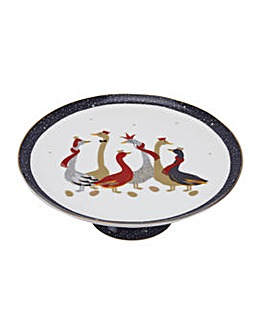 Sara Miller Geese Footed Cake Stand