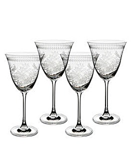 Portmeirion Botanic Garden Wine Glass x4